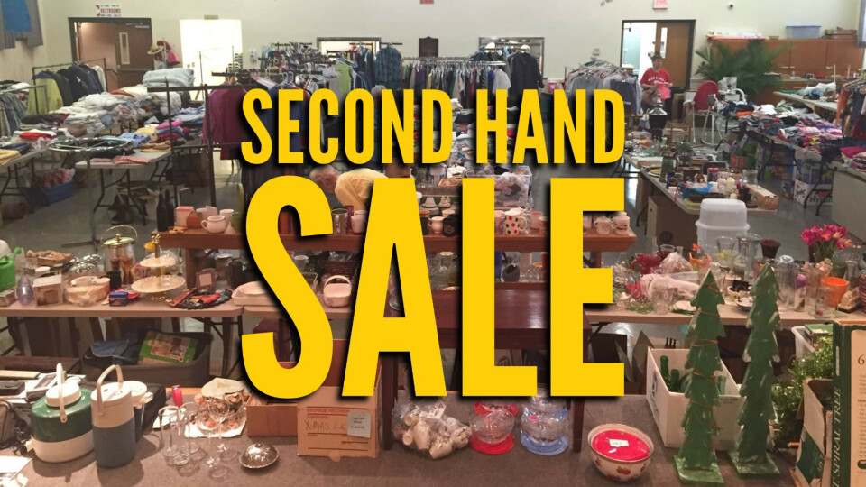 Second Hand Sale
