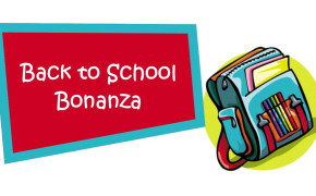 Items needed for Back to School Bonanza