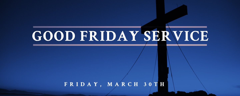 Good Friday Tennebrae Service - Mar 30 2018 7:30 PM