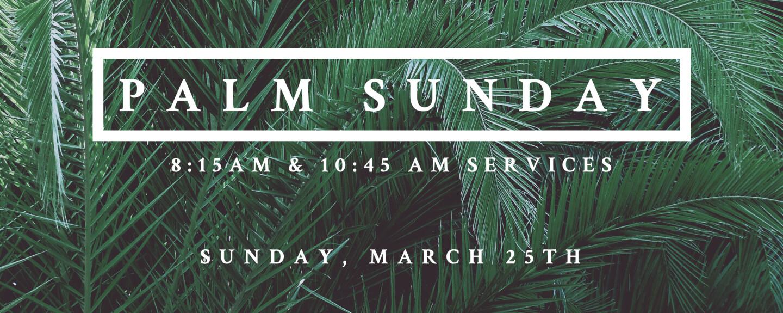 Sunday Worship Services - Sundays 8:15 AM