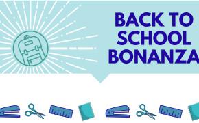 Back to School Bonanza 2019