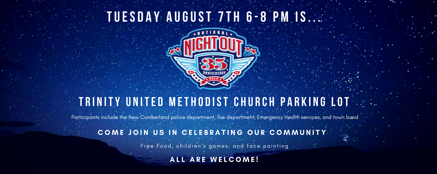 National Night Out - Aug 7 2018 6:00 PM