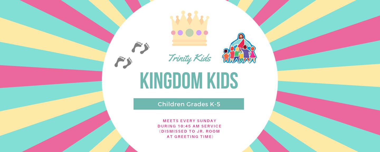 Kingdom Kids - Sundays 10:45 AM