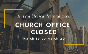 Offices Closed March 16-20