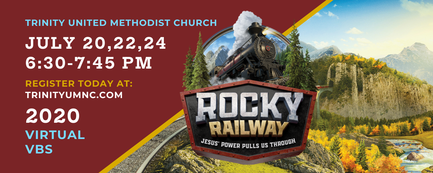 Virtual VBS - Rocky Railway Get Acquainted - Jul 17 2020 6:00 PM
