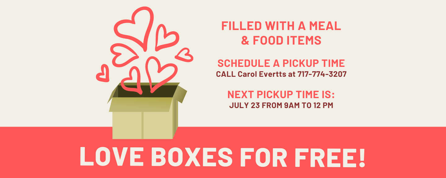 Love boxes for free! - Thursdays 9:00 AM