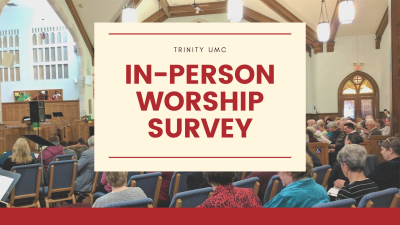 In-Person Worship Survey