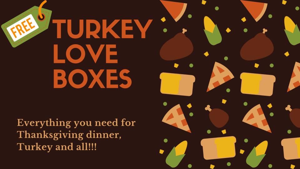 Free Turkey Love Boxes
