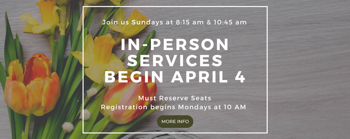 In Person Worship Registration