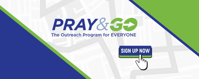 Pray & Go Volunteer Registrations