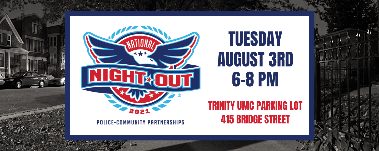 National Night Out  - Aug 3 2021 6:00 PM